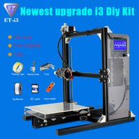 Wholesale Reprap Prusa i3 High Precision DIY D Printer kit ET i3 with Free Filament SD card and LCD as Gift