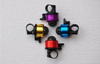 Wholesale 6 Color Optional Safety Mini bicycle accessories Aluminum alloy Loud Sound Bicycle Bell Ring Horn with compass