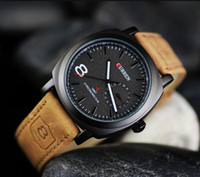 best casual watches - 2 N E W arrival fashion and casual men quartz watch best gifts