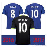 Wholesale 2016 Chelsea Soccer jersey kits Home Blue HAZARD Chelsea PEDRO DIEGO COSTA PEDRO WILLIAN TERRY FABREGAS footbal shirt set with shorts