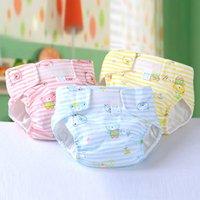 achat en gros de gros fessier moins cher-Vente en gros Baby Diapers Beverage Baby Pailles Babyland Tissu Couches Pauses Réutilisables Baby Lavable Tissu Couches VT0017