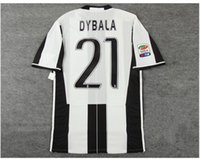 Wholesale 16 home player version shirt HIGUAIN MARCHISIO DYBALA home player version soccer jersey with league patches