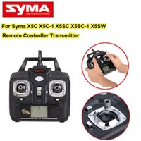Wholesale Newest Version Blue Lights SYMA X5C X5A X5C G CH Axis RC Helicopter Quadcopter Parts Radio Controller Remote Controller