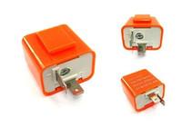 Wholesale 2 PIN V Fix Flash Rate Pin Speed Adjustable LED Indicator Flasher Relay Resistor Fix Flash Motorcycle motorbike Bike