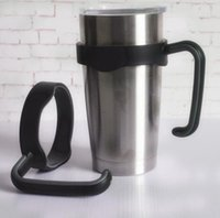 Wholesale YETI hand holder for oz yeti tumbler outdoor portable handle fit for insulated cold hot tumbler HHA995