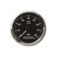 Wholesale 85mm black KUS tachometer KL SV KY07010 for gasoline engine