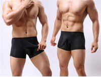 silk panties for men - Mens Underwear Boxers Brand Silk Panties For Men Sexy Funny Cueca Boxer Shorts Homens Elephant Underpants Ropa Interrior Sous Vetement Homme