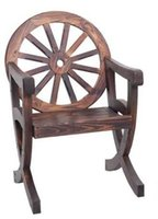 antique wood wheel - Living Room Solid Wood Chair Wheel Lesign Leisure Chairs For Garden