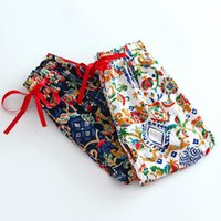Wholesale 6 Colors Baby Girls Print Floral Bloomers Kids Girl Summer Cotton Casual Pant Babies Fashion Loose Pant Children s Clothing SDB1125