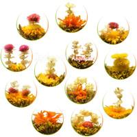 Wholesale Mixed Flower Teas kinds of Handmade Mao Feng Blooming Flower Teas