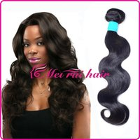 Wholesale 100 percent human hair wigs quot quot body wave curly long Black hair African women natural color Brazilian Real hair sythetic wigs