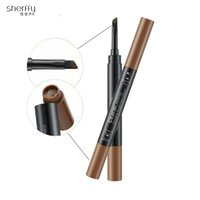 Wholesale SHERFFY foreign trade genuine eyebrow waterproof anti sweat students white collar workers must have make up foreign trade in Europe and Amer