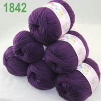 aubergine silk - Sale of balls x g Cashmere Silk velvet Children Yarn Aubergine