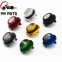 Wholesale Motorbike CNC M20 blue magnetic engine oil filler cap For DUCATI SS SS Honda hornet cb600f Yamaha T MAX