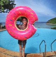 adult party items - Giant Inflatable Donut Pool Float Lounger Adorable inch Giant Pool Floats Raft And Loungers For Adults And Kids Party Christmas