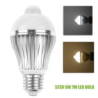 auto dimmable - SMD E27 W W PIR Auto Motion Sensor Detection Dimmable LED Light Lamp Bulb Cool White Warm White
