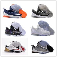 Wholesale Burst section Men s Lebron Low Basketball Shoes Sneakers White Sports Outdoors Man Lebrons XIII LB James Free Delivery Size