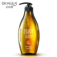 Wholesale ml without silicone oil salubrious oil control itching to the real thing Ginger nourishing healthy hair shampoo