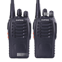 Wholesale 2 Baofeng BF S Walkie Talkie W Handheld bf s for UHF W MHz CH Two way Portable CB Radio