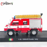 Cheap 1:50 1998 AF Combi Italy Vigili Del Fuoco Fire Truck toys Diecast Fire Truck Model Collection