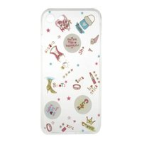 For Chinese Brand apple ii plus - Transparent Flower TPU Soft Case For Iphone Plus I7 S SE S Huawei P8 P9 Lite Y3 Y5 Y6 II Cartoon Tree Butterfly Kiss Dog Phone Cover