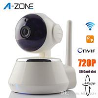 Wholesale 720P HD IP Mini CCTV Pan Tilt Wifi Wireless Camera Baby Monitor Home Security P Mini CCTV Surveillance Cam IR Night Vision