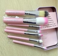 Wholesale Factory Price Makeup Brush Professional Pink Hello Kitty Soft Makeup Brush Set with Box