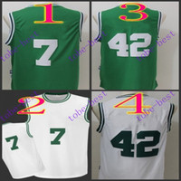 al jerseys - jaylen brown al horford Cheap Rev Basketball Jerseys Embroidery Sportswear Jersey S XL free shippin