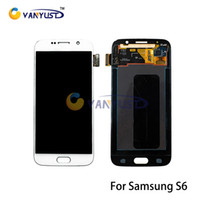 Wholesale LCD Display Touch Digitizer Complete Screen Panels Full Assembly Replacement For Samsung Galaxy S6 G9200 G920 G920A