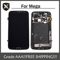 Cheap Grade AAA+ For Samsung Galaxy Mega 6.3 i9200 i9205 LCD Display With Touch Screen&Free Shipping