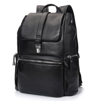 american classic motorcycle - Brand New Men backpack style bags fashion design leisure bags travel bag top quality genuine leather men bags simple classic handbags