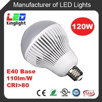 Wholesale 120W LED High Power Bulb E40 Base AC100 V Replacement W CFL in High Bay Fixture Used in Warehouse Shop CE RoHS UL approved