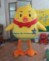 big rooster - Smiling Yellow Chick Chicken Chickling Cock Rooster Chicken Chook Mascot Costume Cartoon Character Mascotte Adult Big Feet ZZ564