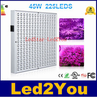 45W 2835 SMD LED завода светать панели Красный Оранжевый Синий Белый 12-дюймовый Greenhouse Крытый гидропоники система освещения Box