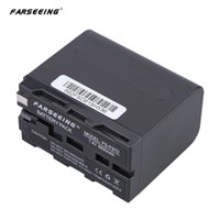 Wholesale FARSEEING FS F970 V mAh Digital Video Camera Camcorder Battery Rechargeable Li ion DV Battery for Sony HDV FXIE HVR Z1C