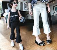 Cheap 5pcs lot New 2016 Fashion Korean Children autumn girls Trousers Baby Girls Flare pants children pantyhose kids clothing