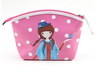 Wholesale Fashion casual Ladies Cosmetic Bags Cases hand take a make up bag for women