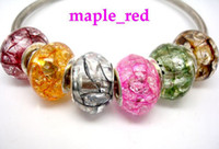 beautiful cracks - Mixed Beautiful Crack Resin European Charms Beads Fit European Bracelet and Necklace