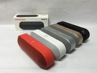 audio amplifier sale - Hot Sale New Pill Mini Bluetooth Wireless Speakers Portable Subwoofers Stereo Hifi Amplifier MP3 Player Support TF and Flash Disc
