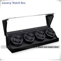 Wholesale Good Quality Automatic Watches Winder Wood Storage Slots Great Gift Box for Leader and Boss GC03 Q102BB