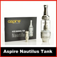 Wholesale Best Quality Aspire Nautilus Atomizer Tank Newest BVC clearomizer tank Airflow Control ML with Nautilus BVC coil VS nautilus mini tank