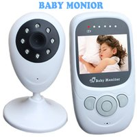 Wholesale Baby Monitors Inch TFT LCD Screen Baby Monitors with Wireless Video Camera System Support IR Night Vision and Way Inttercom Talk f