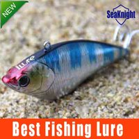 best bass fishing lure - SeaKnight Best Quality Hard Bait Carp Fishing lures Bass Fresh Salt water Sinking Crank Bait Tackle Treble Hook Blue Color