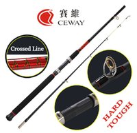 Wholesale Carbon Fishing Rod CROCODILE Hard Boat Rods Fish Ocean Rod Jigging Jig Rod Snakehead Rods Fishing Tackle sections m