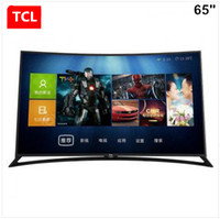 Wholesale TCL inch curved plate Ultra HD K LED TV D intelligent voice control global TV Popular products