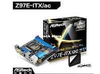 Wholesale ASROCK Z97E ITX AC Desktop mini motherboard supports the platform