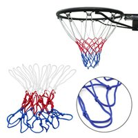 basketball goal nets - Red White Blue Basketball Net Nylon Hoop Goal Rim Mesh Net High Quality