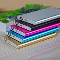 Cargador solar 2600MAH banco móvil de fuente de alimentación de batería solar portátil Banco de alimentación dual USB para Iphone Samsung Todos los teléfonos móviles