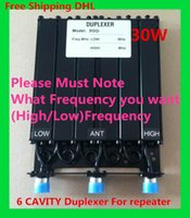 Wholesale UHF VHF CAVITY W DUPLEXER for repeater radio repeater N konektor Duplexer SGQ Hot sale with packing box