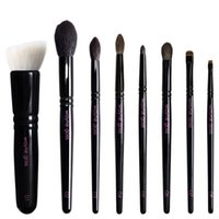 Wholesale WAYNE GOSS The Anniversary Set pieces Face Eye Shadow Brush Kit High Quality Squirrel Hair Beauty Makeup Brushes Blender DHL Free